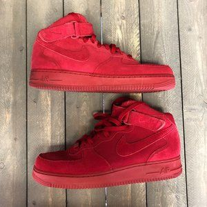 Nike Air Force 1 Mid 07' Red October Size 11.5